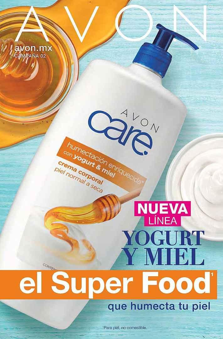 9de023767 Avon Care presenta la nueva línea yogurt y miel el Super Food que humecta  tu piel. Hidratación efectiva. Suavidad al instante. Limpieza facial.