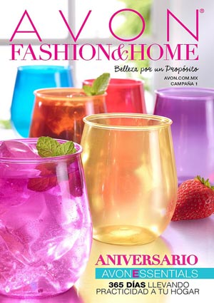 Avon Folleto Fashion & Home Campaña 1/2017 portada