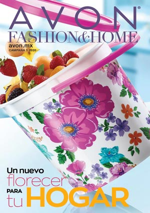 Avon Folleto Fashion & Home Campaña 1/2020 portada