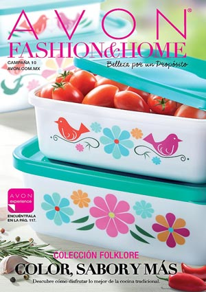 Avon Folleto Fashion & Home Campaña 10/2016 portada