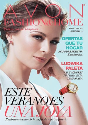 Avon Folleto Fashion & Home Campaña 11/2016 portada