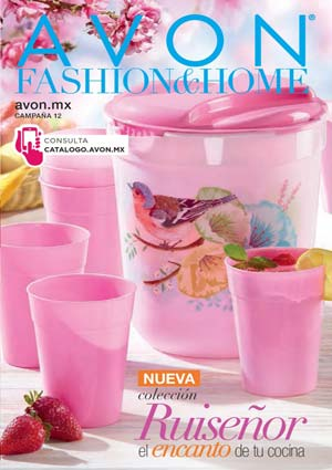 Avon Folleto Fashion & Home Campaña 12/2019 portada