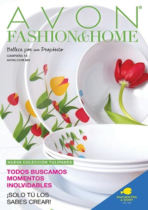 Avon Folleto Fashion & Home Campaña 15/2016 portada