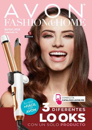 Avon Folleto Fashion & Home Campaña 16/2019 portada