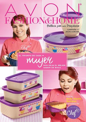 Avon Folleto Fashion & Home Campaña 17/2016 portada