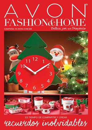 Avon Folleto Fashion & Home Campaña 18/2016 portada