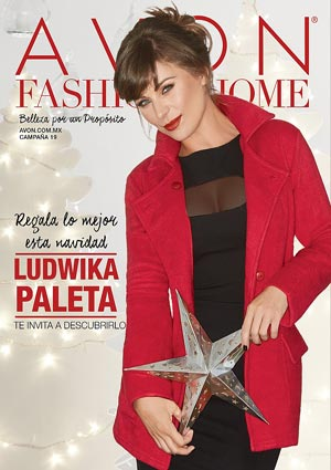 Avon Folleto Fashion & Home Campaña 19/2016 portada