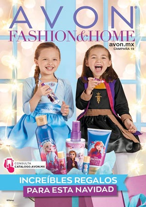 Avon Folleto Fashion & Home Campaña 19/2019 portada