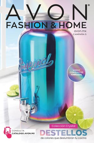 Avon Folleto Fashion & Home Campaña 5/2021 portada