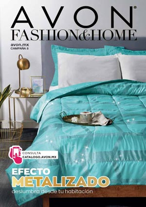 Avon Folleto Fashion & Home Campaña 8/2020 portada