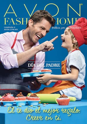 Avon Folleto Fashion & Home Campaña 9/2016 portada