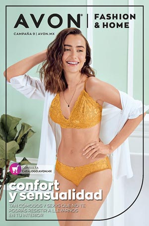 Avon Folleto Fashion & Home Campaña 9/2021 portada